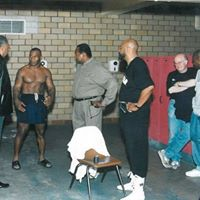 Tyson training pre-fight
